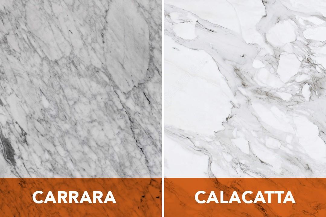 Attractive Carrara And Calacatta Marble