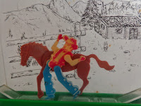 horse and cowboy toy