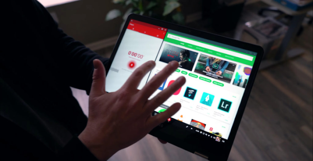 App Updates:Google added split screen snapping to Chromebook