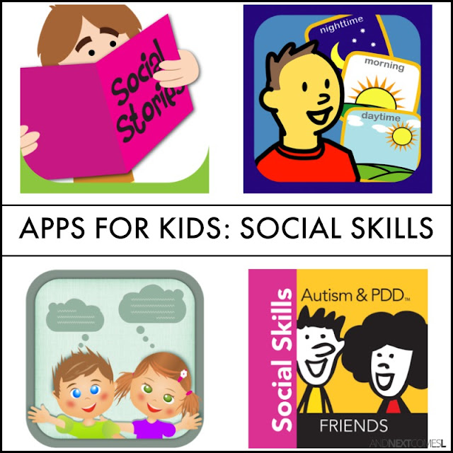 Social skills apps for kids from And Next Comes L
