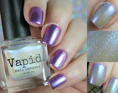 Vapid Nail Lacquer I'm Late | Curiouser & Curiouser Collection
