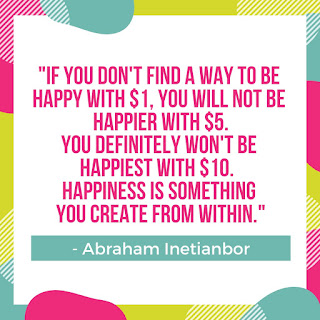 happiness is from within