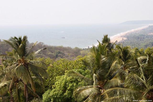 Rannat Candolimista Bagaan, Intian Pohjois-Goassa