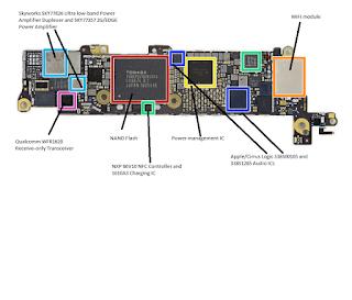 iPhone 5 SE PCB