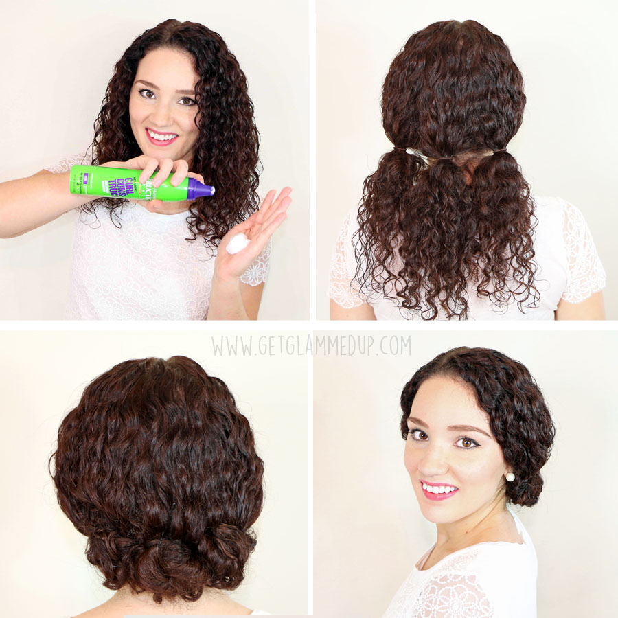 Marvelous 7 Easy Hairstyles For Curly Hair Weekly Change Ups With Garnier Hairstyle Inspiration Daily Dogsangcom
