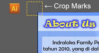 Membuat Crop mark di illustrator