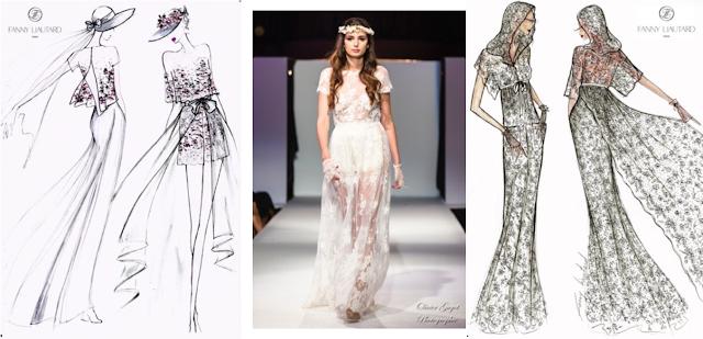 FANNY LIAUTARD robes de mariée sur mesure créateur Paris