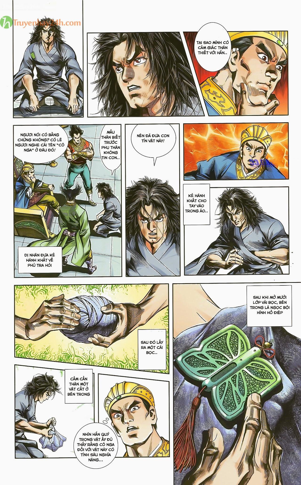 Tần Vương Doanh Chính chapter 29.1 trang 7