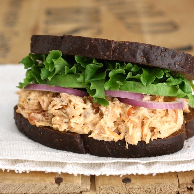 Roasted Salmon Sandwich with Chipotle Mayo by SeasonWithSpice.com