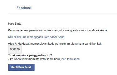 Cara Atasi Lupa Kata Sandi Facebook