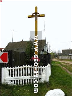 Раков. Католический крест