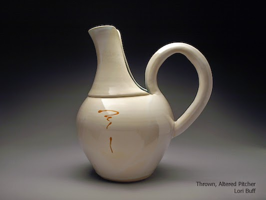 Pottery Pitcher by Lori Buff