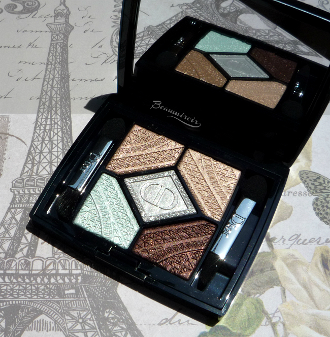 Dior Parisian Sky eyeshadow palette: review, photos, swatches