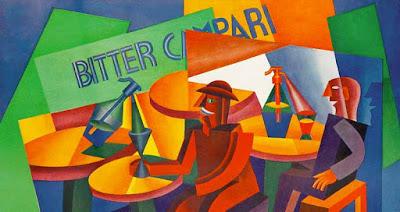 """Fortunato Depero """"Squisito al Seltz"""" (pubblicità Campari) (1926)"""