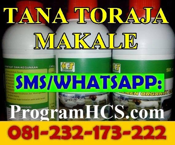Jual SOC HCS Tana Toraja Makale