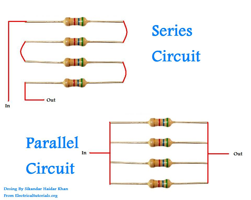 Series And Parallel Circuits Explanation In Urdu & Hindi ...