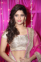 Ritika Sing in Golden Pink Choli Ghagra Cute Actress Ritika Sing ~  011.JPG