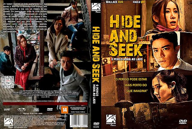 Capa DVD Hide and Seek: O Perigo Mora ao Lado [Custom]