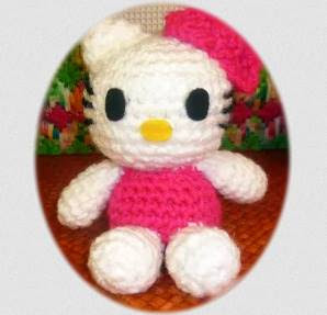PATRON GRATIS HELLO KITTY AMIGURUMI 40475
