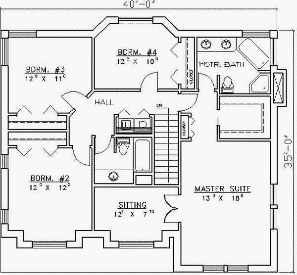 Coratcoretnaknik: 4 Bedroom House Designs