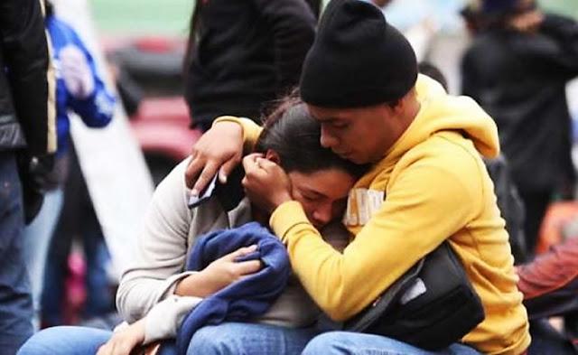 Venezolanos varados en frontera
