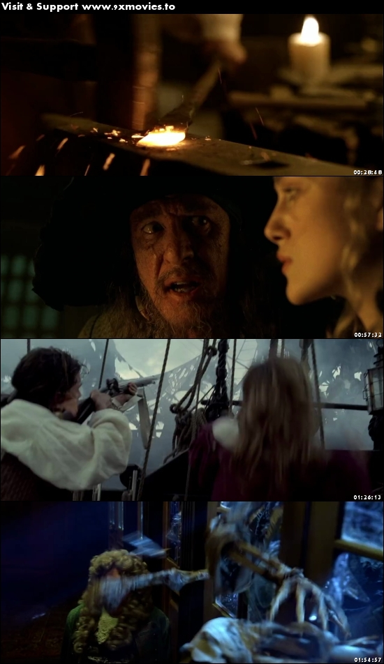 Pirates Of The Caribbean The Curse Of The Black Pearl 2003 Dual Audio Hindi 720p BluRay 1.1GB
