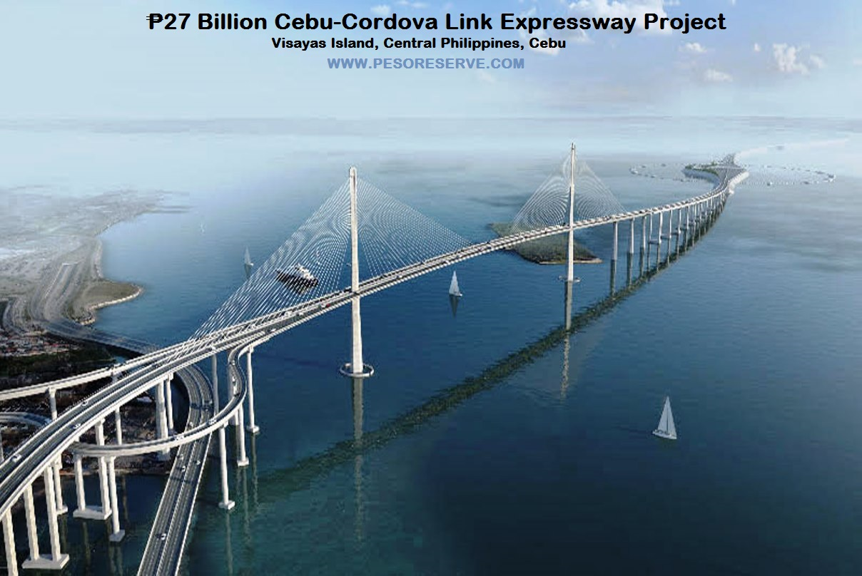 Ground Breaking of ₱27 billion Cebu-Cordova Link Expressway in Cebu Philippines