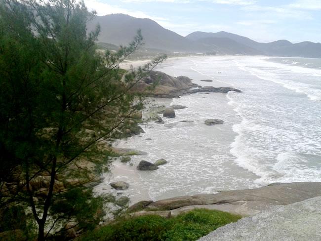 Praia Garopaba Centro