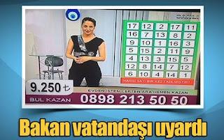 TV ve radyolardaki yarışmalara dikkat!