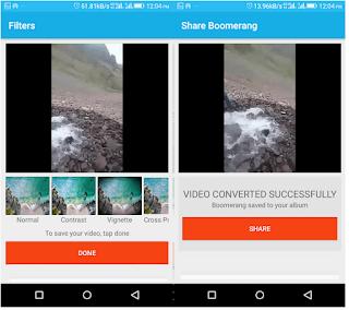 Cara Membuat Boomerang di Instagram Dari Video yang Ada di Gulungan Kamera atau Galeri