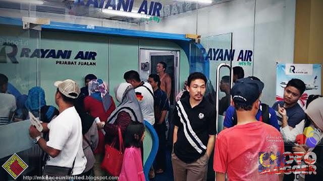 200 penumpang Rayani Air terkandas di Langkawi