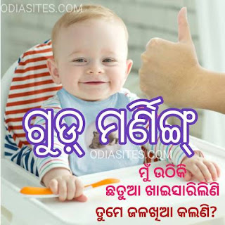 good morning odia whatsapp status quote