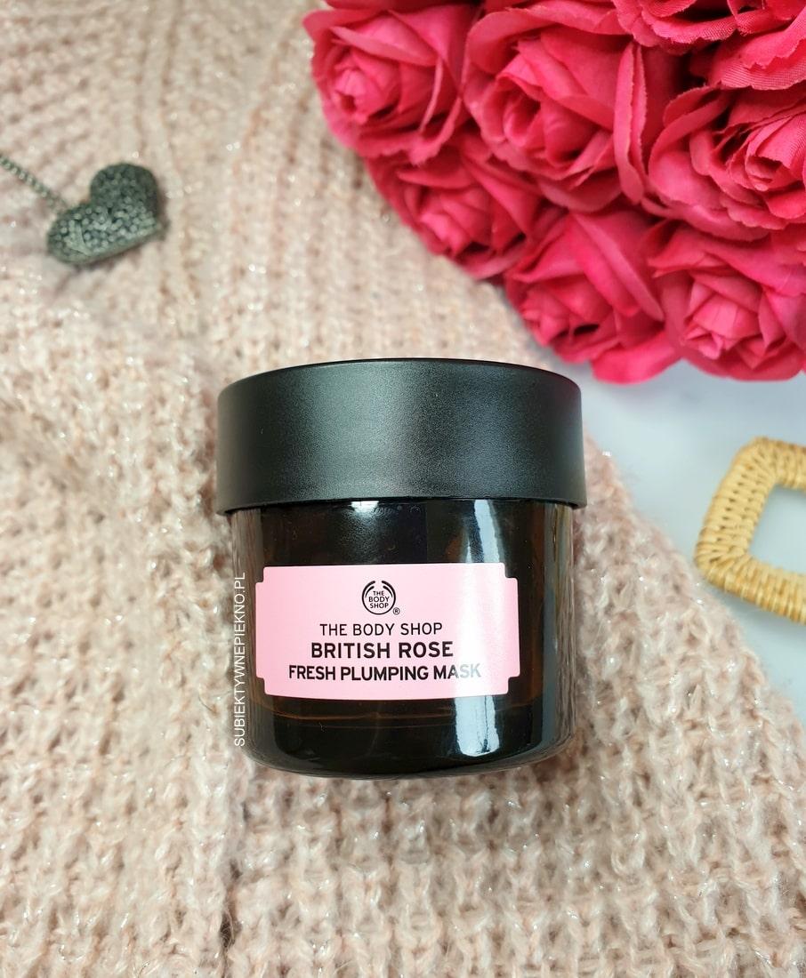 The Body Shop maska różana British Rose Fresh Plumping Mask ♥