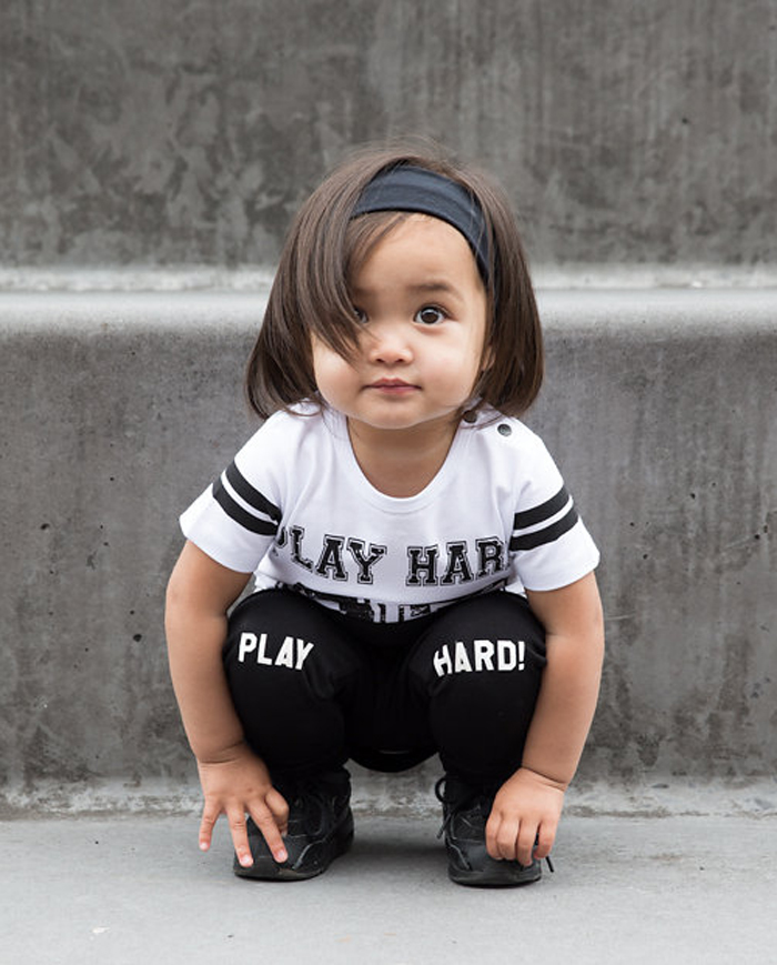 Lucky No 7 Autumn 2016 kidswear collection - Play Hard!