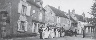 Mariage à Cheverny en 1934