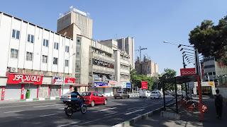 Tehran has clean streets