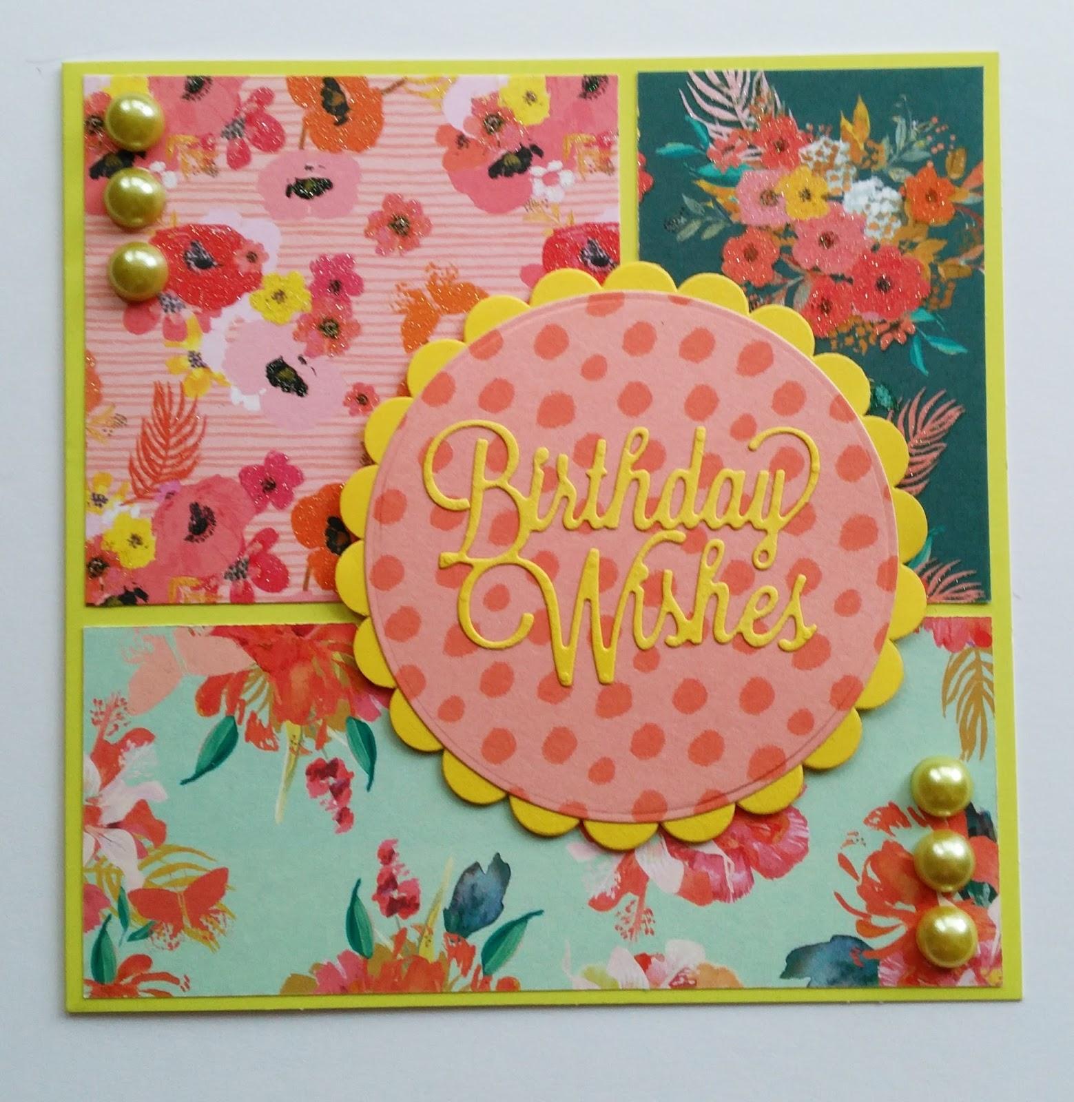 Icedimages Simple Paradise Crush Birthday Card