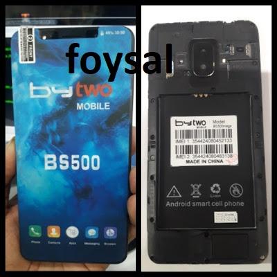 Bytwo Bs500 Mega Flash file MT6580 dead fix firmware - GSM