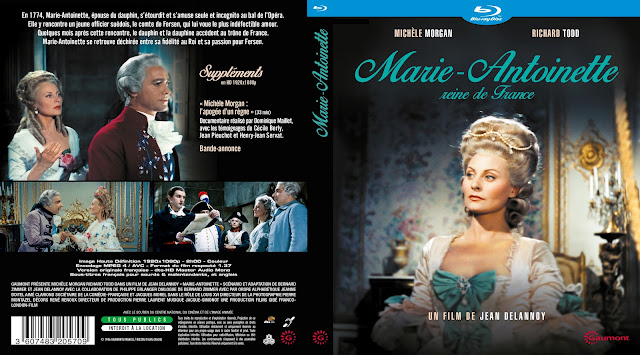 Marie-Antoinette reine de France (Shadow of the Guillotine) Bluray Cover