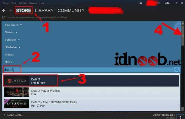 Cara Download Dota 2 Online