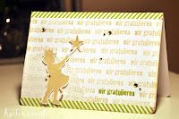 Kartenwind : wir gratulieren Karte #kartenwind #baby #nachwuchs #stempeln #stamping