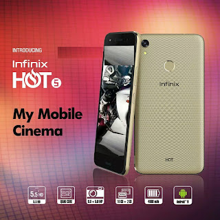 Infinix Hot 5 Dual Sim Specs And Price in Nigeria