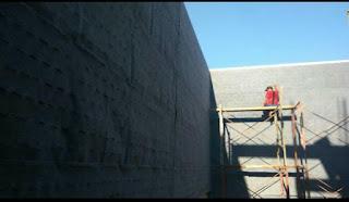 proses pembuatan taman vertikal