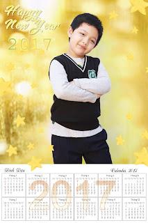 thiết kế lịch cho bé