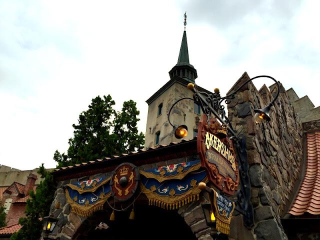 Restaurante Akershus na Disney em Orlando