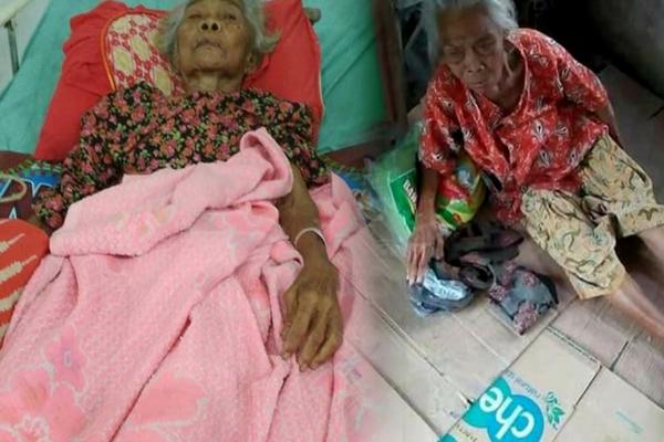 Kisah Mbah Kasmi, Nenek Sebatang Kara Asal Ngawi yang Tinggal di Emperan Pasar