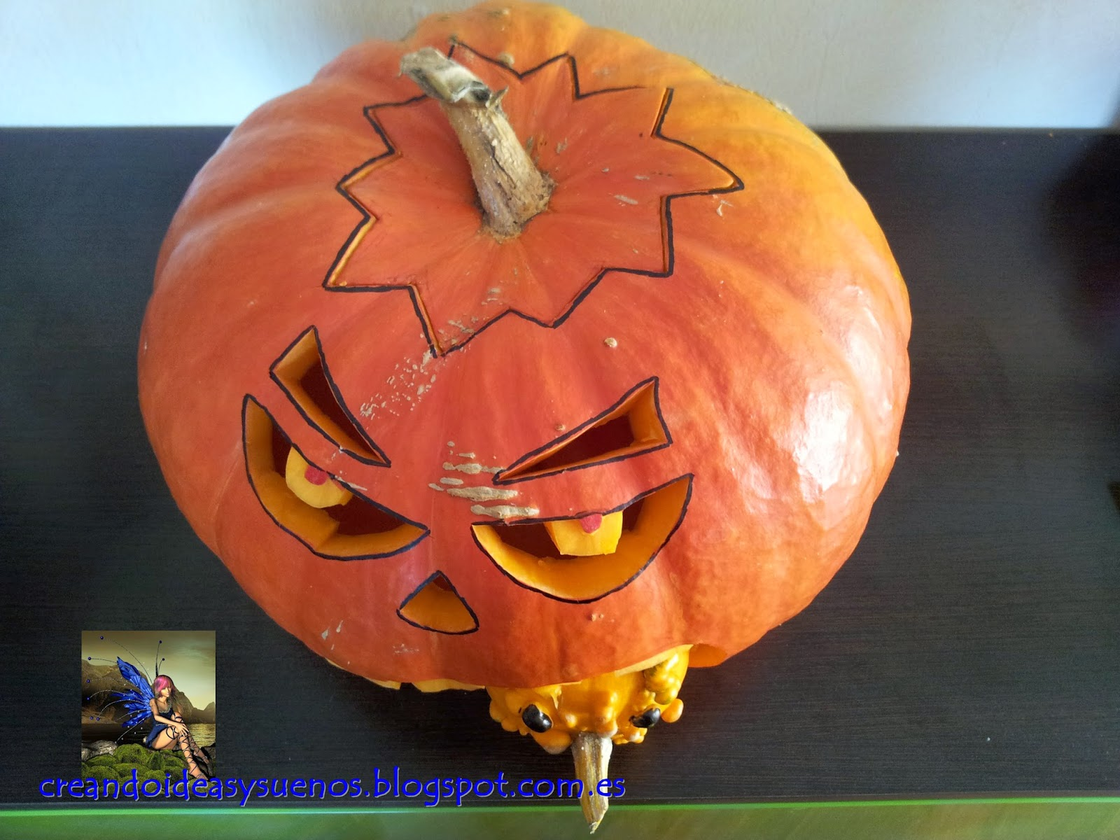 Creando Ideas y Sueños: Halloween _ Crea tu Calabaza...
