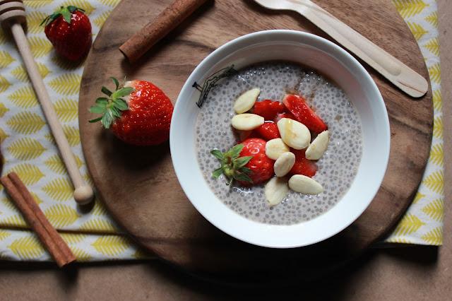 nuova vita, nuovo blog!  + pudding ai semi di chia