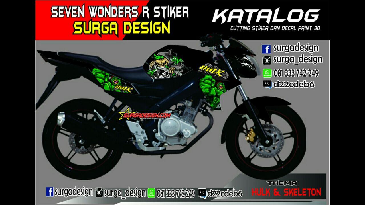 9400 Gambar Cutting Sticker Motor Cb150r Terbaru