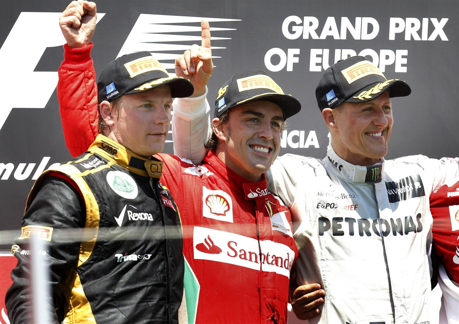 Sunshine on Formula 1 ♥: Gran Premio d'Europa 2012 fully